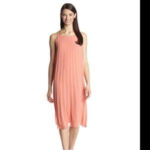 NWT BCBGENERATION Sleeveless Pleated Dress
